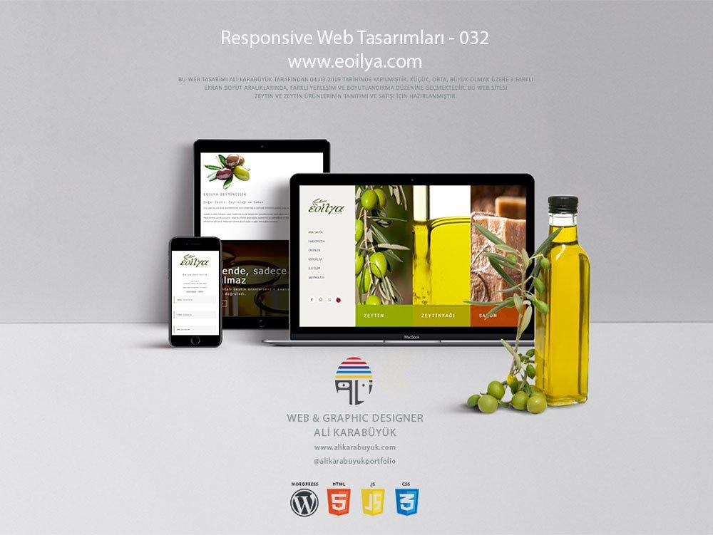 Gıda Web Tasarımı - 032