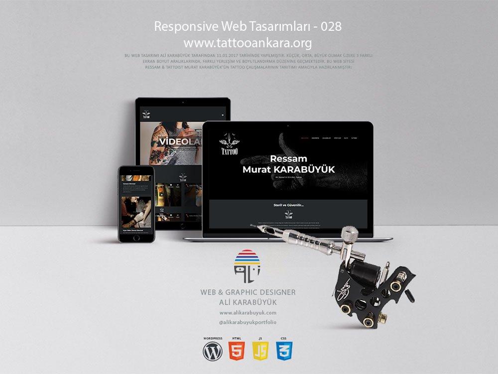 Tattoo Web Tasarımı