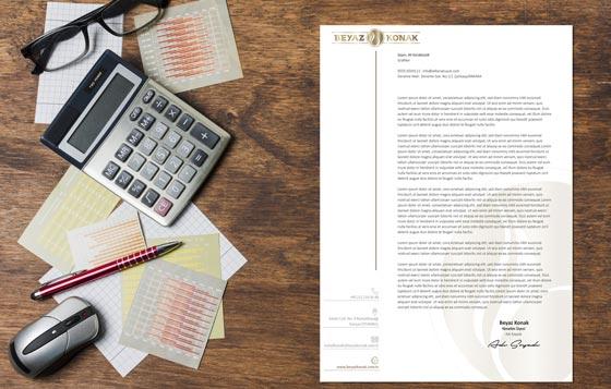 Restaurant Antetli Kağıt Tasarımları 1
