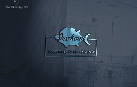 Deniz ürünleri logo tasarımı