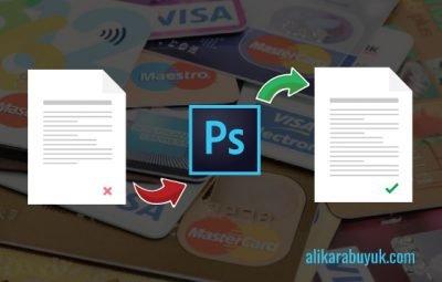 kredi kartı ekstresi düzenleme