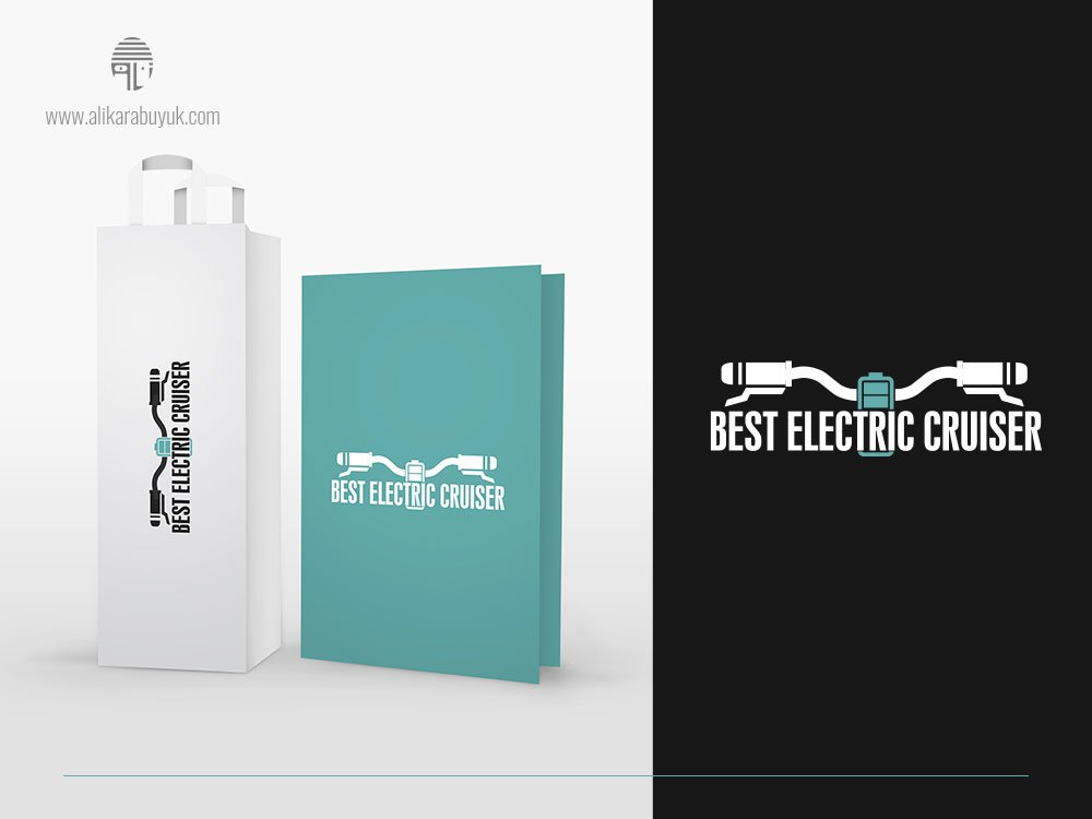 Elektrikli Bisiklet Logo Tasarımı