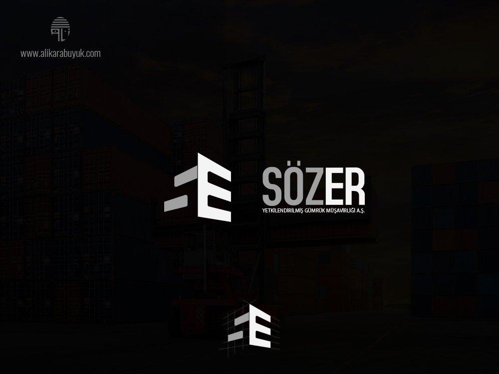 S ve E Harf Logo Tasarımı