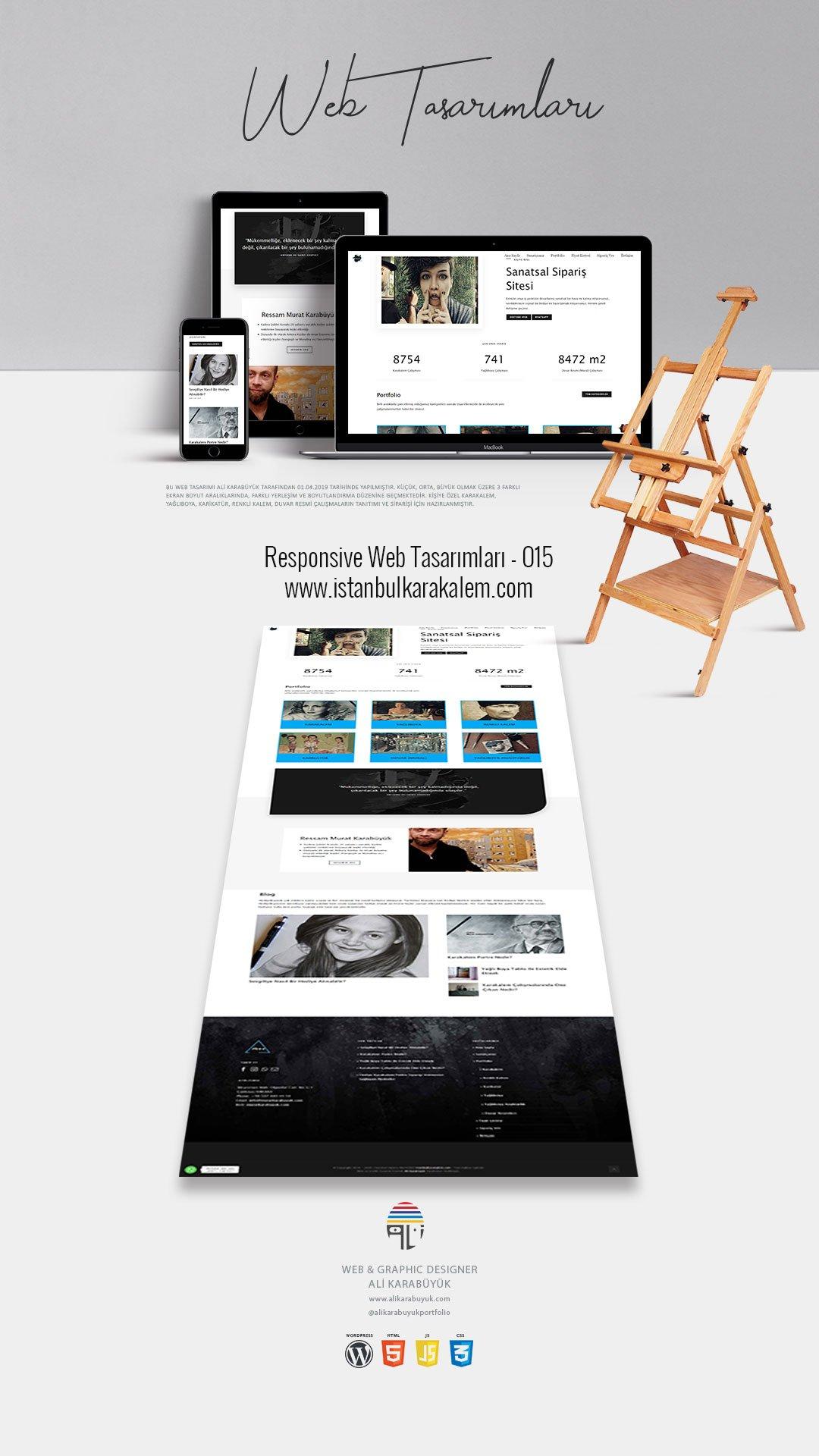 Karakalem Web Tasarım Sayfası