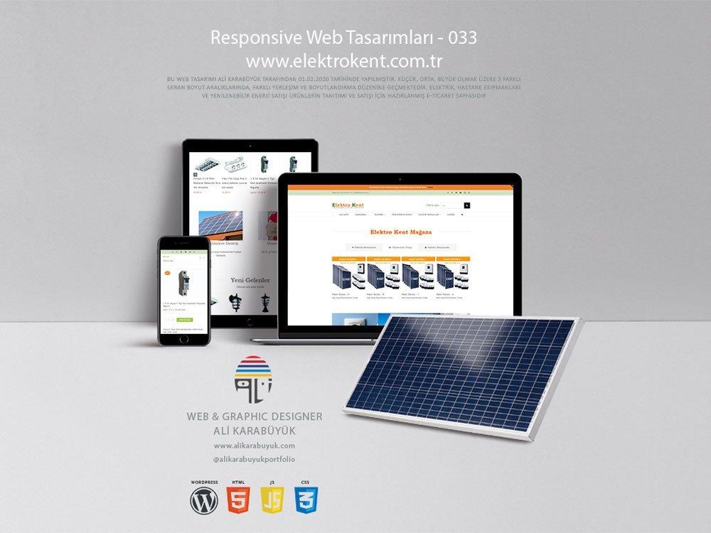 E-Ticaret Web Tasarımı