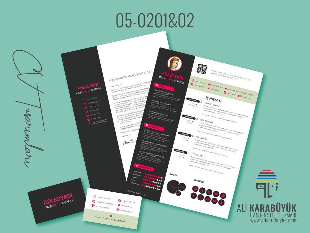 05 Nolu CV Tasarımı