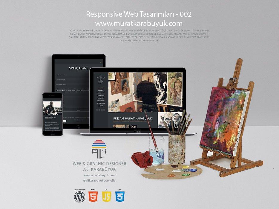 Sanatçı Web Sitesi